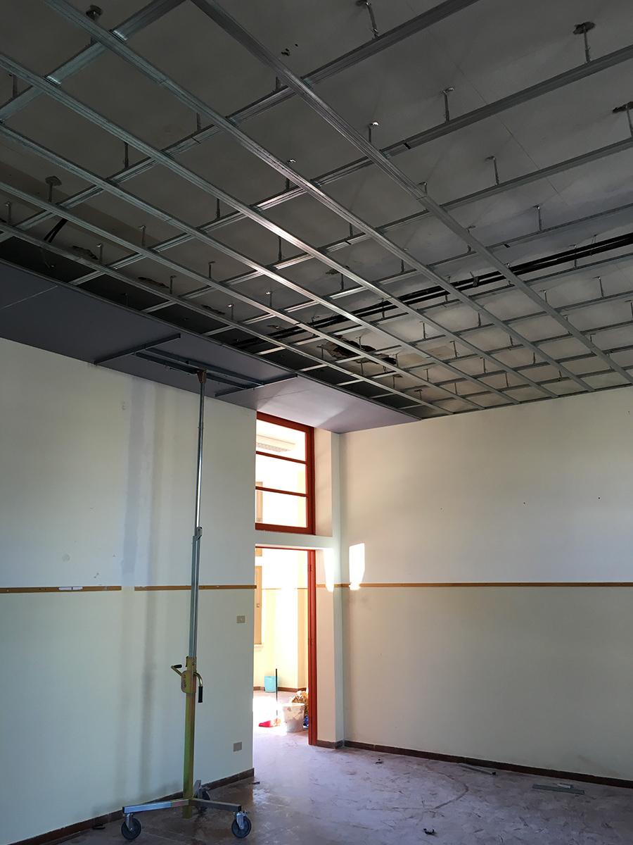 cartongesso pareti divisorie soffitto casa